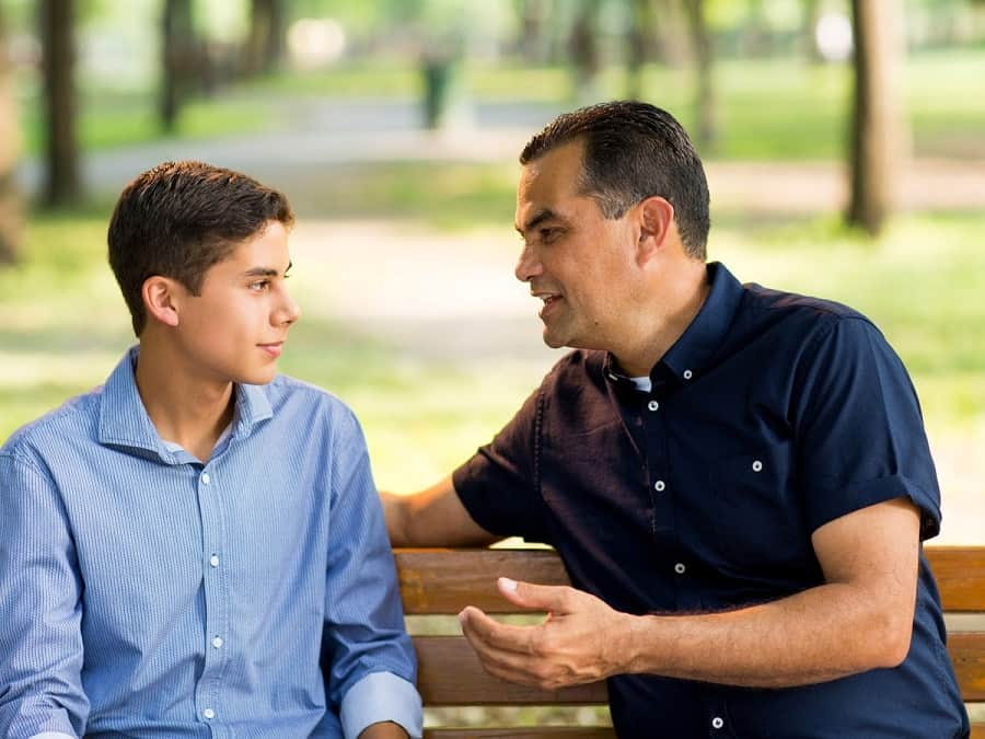 discipline strategies for 14 year old boys